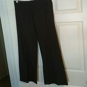 Ralph lauren  black label 2 cuff charcoal pants